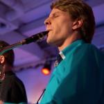 Joscha am Bariton-Saxophon