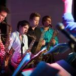 Die Saxophon-Section